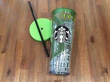 Starbucks Boston Double Wall Plastic Cold Cup Local Collection 24 oz Venti YAH