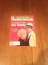 Newsweek Magazine Madonna and Warren Beatty Dick Tracy June 25 1990 Aids