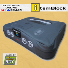 Nintendo 64 Black Console System Dust Cover (Exclusive eBay Us Seller)