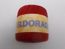 Eldorado por abrigos - 50g Bola de ganchillo hilo rojo número 4287