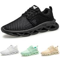 Mens Fashion Sneakers Shoes Mesh Breathable Sports Outdoor Running Gym Casual B