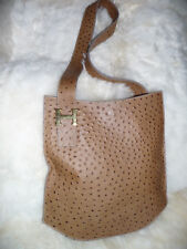 Vintage Large Italian Exotics Leather Shoulder Handbag