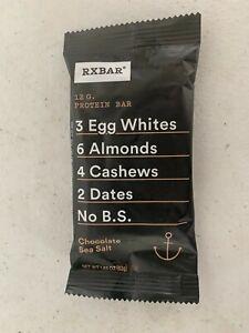165 RXBAR Protein Bars Chocolate Sea Salt nutrition energy