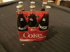 Coca Cola Bottles.6 Pack Of 16Oz Coke Bottles With Carrying Case. Never Opened!