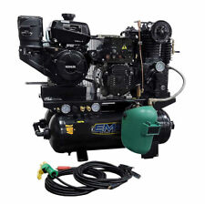 Emax Eges14020T 14 Hp 20 gal Stationary Air Compressor/ Generator/ Dc Welder New