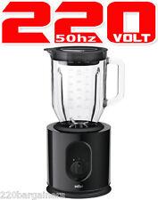 Braun JB5050 900 Watt Powerful Jug Blender 220-240 Volt for Europe Asia 220V