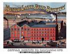 "1880 Suffolk Brewing Company, Boston, MA  Ad Poster Art Print 8.5"" x 11"" Reprint"
