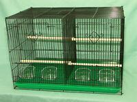 Wellensittiche Kanarienvögel Metallkäfig Vogelhaus Papageien Voliere Zuchtkäfig