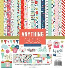 ECHO PARK PAPER CO. 12 X 12 PAPER ANYTHING GOES COLLECTION KIT
