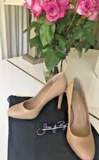 01b7f792828e Shoes of Prey taupe nude round toe heels Womens Shoes PUMPS 10N NEW leather