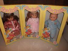 "Zanini & Zambelli Soft Dolls (Lot of 3, RARE NEW IN BOX) 24"" Made In Italy"