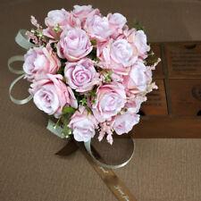 Hand Made Wedding Flowers bridal bouquet Simulation Rose Bouquet Spherical