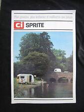 AC521 CATALOGUE DEPLIANT PUB CARAVANE ARIEL ALPINE MAJOR 12 pages BON ETAT