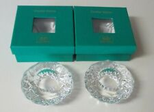 Simon Design 2 Lacie Clear Crystal Votives Sd123V Nib