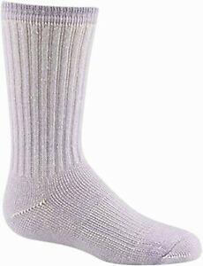 Wigwam F2323 Merino Comfort Hiker Lilac Sock YL Youth 10.5-2 Women's 3-5 New