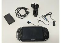 Sony PS Vita OLED WiFi Black w/ Charge Adapter