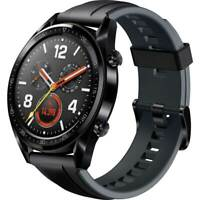 Orologio Bracelet Huawei Watch GT black leather band nero Garanzia Ue Nuovo