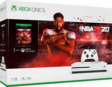 Microsoft - Xbox One S 1TB NBA 2K20 Bundle - White