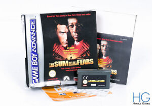 The Sum Of All Fears Boxed - Nintendo Game Boy Advance GBA PAL