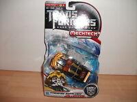 transformers DARK OF THE MOON cyberfire bumblebee Mechtech NEW ON CARD