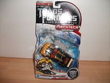 transformers DARK OF THE MOON cyberfire bumblebee Mechtech NEW ON CARD