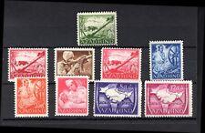 "India; Azad Hind ""Cinderella"" set. 9 stamps. 1943. (SG----). UM."