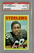 1972 Topps L.C. Greenwood Rc PSA 8 NM-MT Pittsburgh Steelers DE
