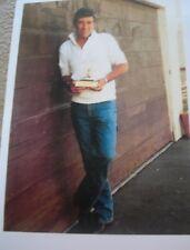 "ROBERT FULLER GOLDEN BOOT PIC 11 BY 14"" MATTED PRINT"