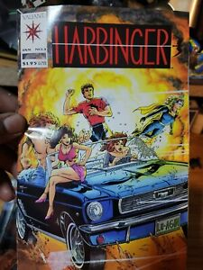 Harbinger #1 1992 , card and coupon