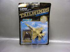 NIB 2000 MAISTO TAILWINDS F-16 BLOCK 60 FIGHTER PLANE 1/87 DIE CAST BOX W/WEAR