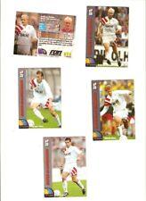 5 Panini-Sammelkarten ran Fußball 1994 - Bayer Leverkusen - guter Zustand