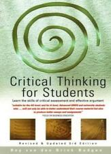 Critical Think For Students 3e: Learn the skills of critical assessment and ef,