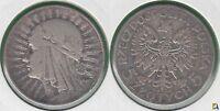 POLONIA - POLSKA. 5 ZLOTYCH DE 1934. PLATA 0.750.