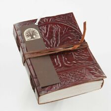 Vintage Tree Life Leather Blank Book Diary Journal Page Paper Product Gift Pen