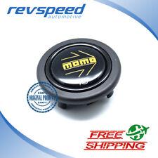 MOMO Steering Wheel Horn Button Black Large Genuine New Type SPHOARWBLKYER
