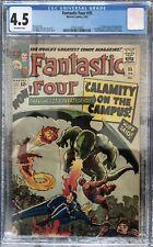 Fantastic Four #35 CGC 4.5 OW 1965 1st Dragon Man Avengers Marvel MCU Silver Age