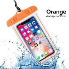 Waterproof Case for IPhone Samsung Mobile Phone Pouch Protector 2 PIECES!!
