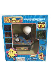 Ms. Pac-Man Plug & Play TV Arcade Game Namco in Original Box