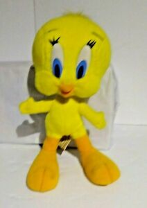 Warner Bros Tweety Bird Vintage 1994 plush stuffed animal 10""
