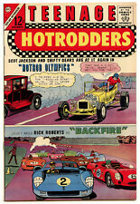 High Grade! Teenage Hotrodders 15 King of the Hill 1965 12c Comic Charlton
