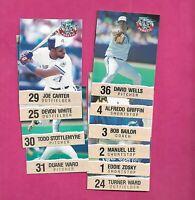 1992 TORONTO BLUE JAYS FANATIC   SET CARD (INV# C1037)