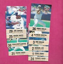 1992 TORONTO BLUE JAYS FANATIC   SET CARD (INV# C1037)