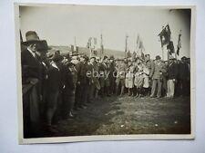 TRIESTE 1929 NATALE DI ROMA vecchia foto fascismo fascisti 1 sindacati