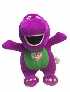 Lyons 8'' Barney The Dinosaur Singing Plush I LOVE YOU Song Play Along 2015