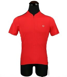 New Pearl Izumi Select Men 3/4 Zipper Pullover Riding Jersey Shirt Medium Red
