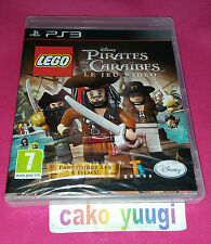 LEGO PIRATES DES CARAIBES LE JEU VIDEO  PS3 NEUF SOUS BLISTER VERSION FRANCAISE