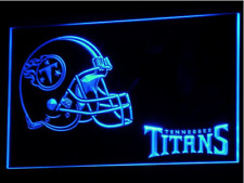 New Custom Tennessee Titans LED Neon Light Signs Bar Man Cave 7 colors to choose