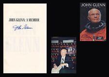 JOHN GLENN Autographed SIgned Book Mercury NASA Astronaut
