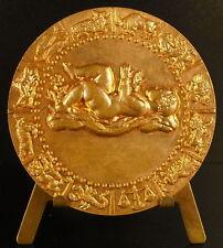 Médaille naissance signes du zodiaque astrologie Zodiac signs baby birth medal