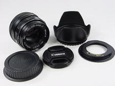 1993 made MC HELIOS 44M-7 2/58 M42 Canon EF EF-S confirmation chip. s/n 93232311